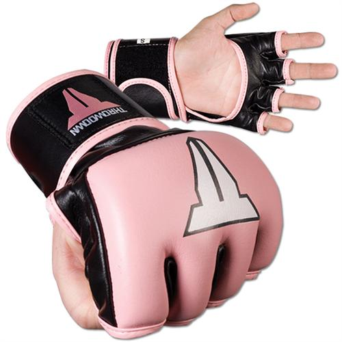 Throwdown Pink Pro Competition Gloves